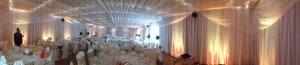 Brooksby Hall full venue drape