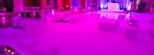 pink up lighting
