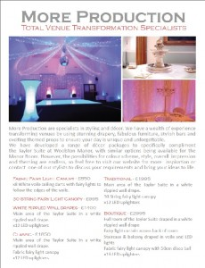woolston manor decor packages